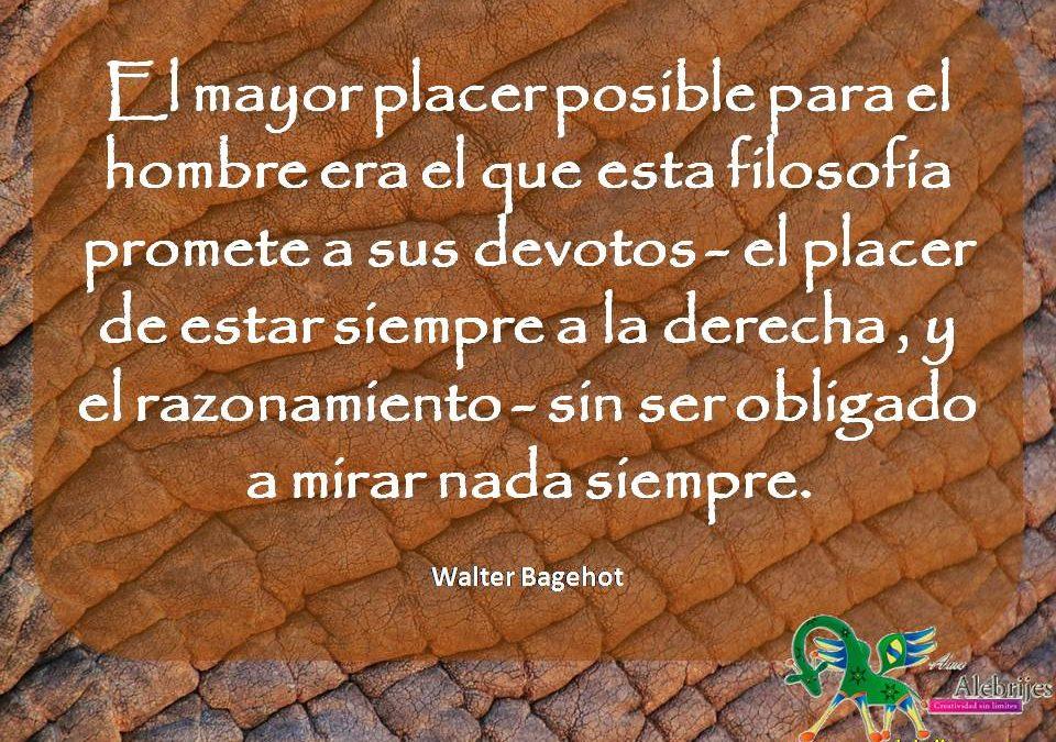 Frases celebres Walter Bagehot 2