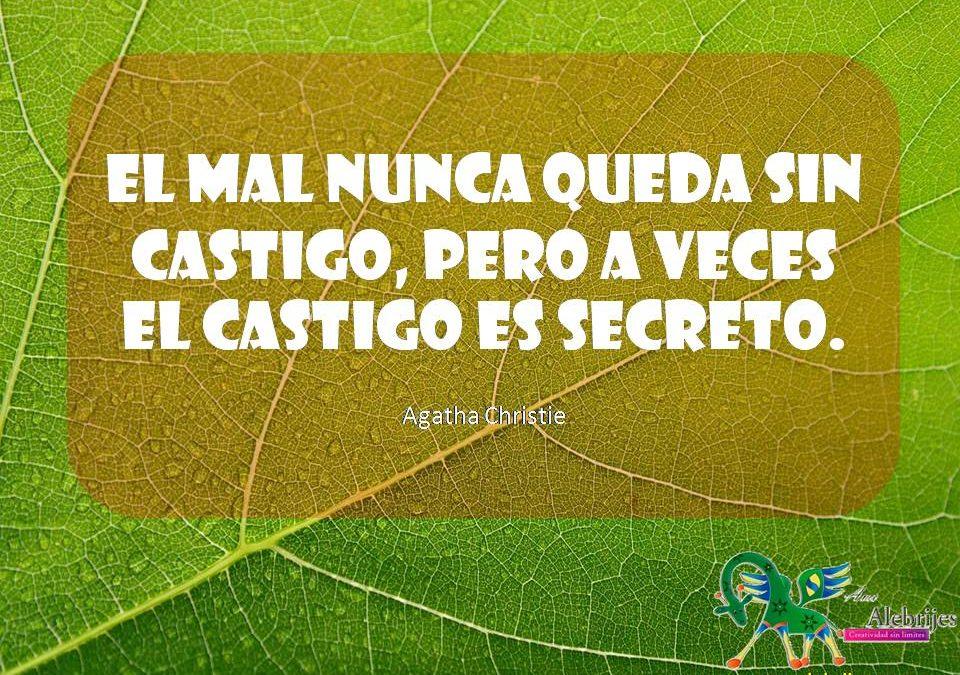 Frases celebres Agatha Christie 4