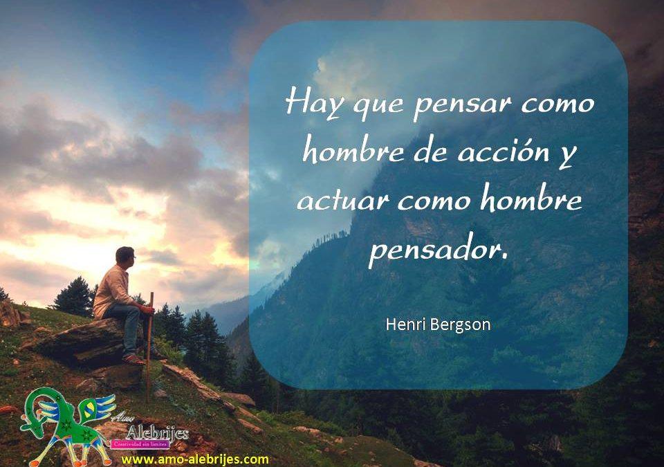 Frases celebres Henri Bergson 1
