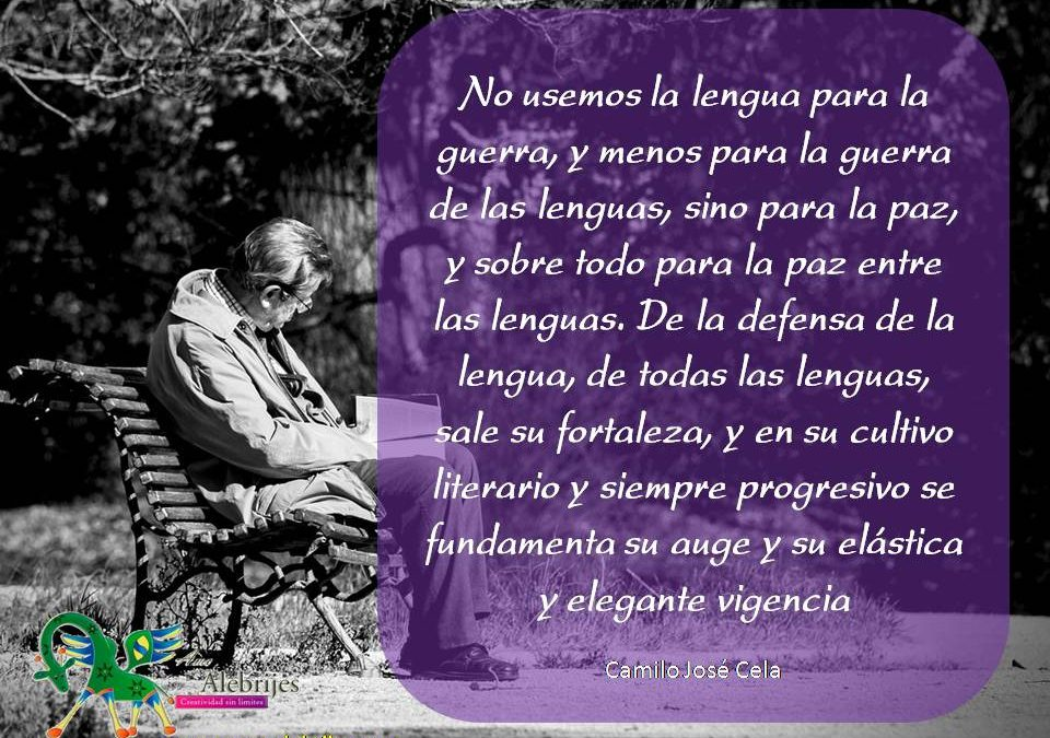 Frases celebres Camilo José Cela 2