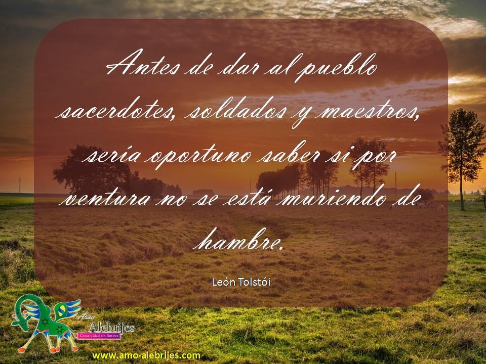 Frases celebres León Tolstói 5