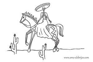 dibujos de catrinas catrina bernardina