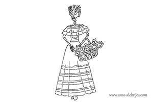 dibujos de catrinas catrina clementina
