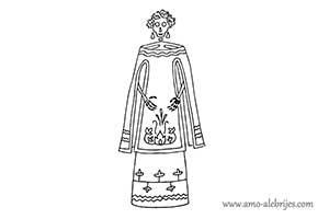 dibujos de catrinas catrina evangelina