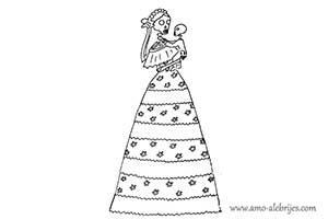 dibujos de catrinas catrina gerardina