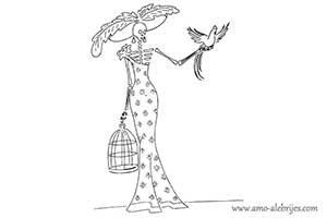 dibujos de catrinas catrina leopoldina