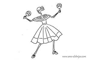 dibujos de catrinas catrina sabina
