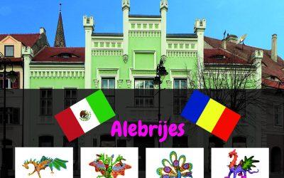 Exposición de alebrijes rumania