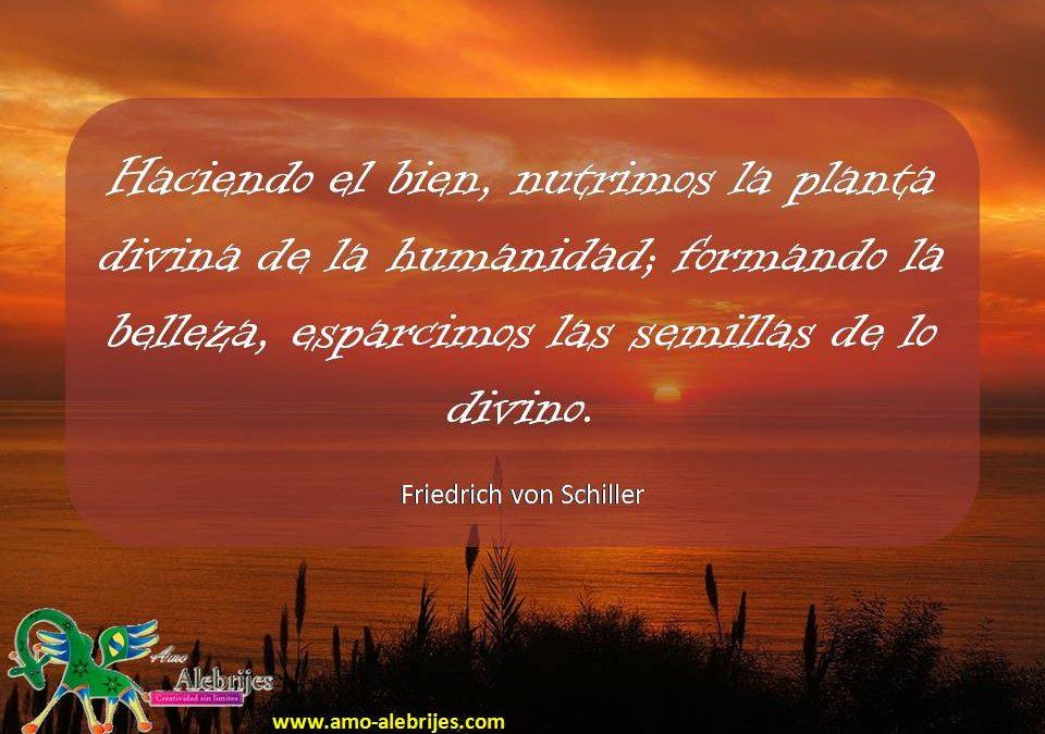 Frases celebres Friedrich von Schiller 9