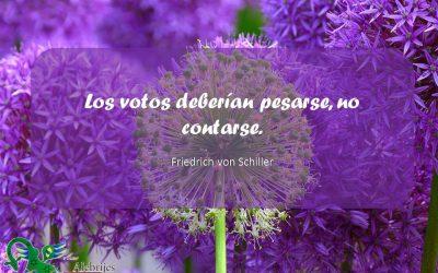Frases celebres Friedrich von Schiller 12