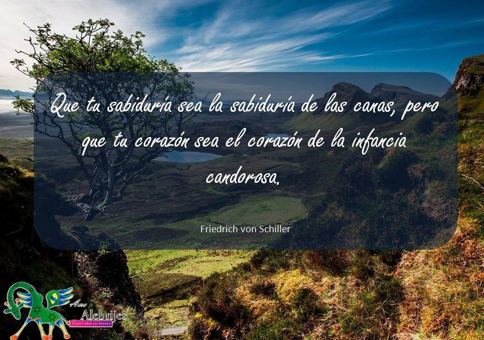 Frases celebres Friedrich von Schiller 17