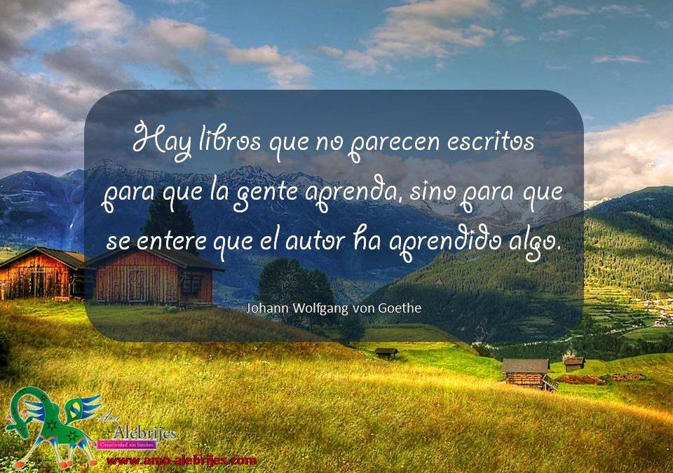 Frases celebres Johann Wolfgang von Goethe 9