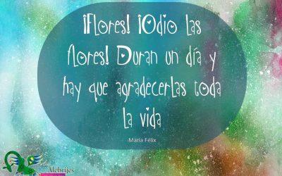 Frases celebres María Félix 19